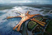 Jaunākā lidosta pasaulē izskatīsies kā svešzemju kosmosa kuģis