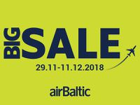 BIG SALE! airBaltic акция