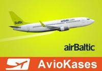 «Airbaltic» aprīlī bijusi 6. punktuālākā zemo cenu aviosabiedrība pasaulē