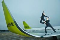 airBaltic pasažieru skaits Rīgā jūnijā palielinās par 13%