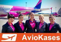 Aviokompānija Wizzair piedāvā 20% atlaidi!