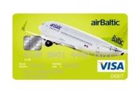 Авиакомпания airBaltic запустила собственную карту предоплаты