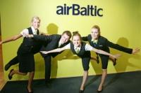 AirBaltic сделала скидку на полеты в Барселону и Тбилиси