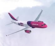 'WizzAir' pērn palielinājusi apkalpoto pasažieru skaitu par 15%