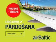 Lidojumu pārdošana no airBaltic