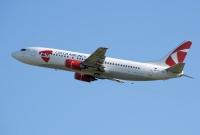 Lidostā 'Rīga' notika Czesh Airlines lidmašīnas 'iesvētīšana'
