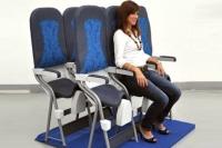 Eksperti: «vertikālas sēdvietas» lidmašīnās gaidāmas jau drīz