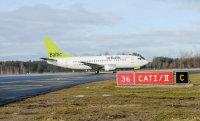 'airBaltic' pieaudzis pasažieru skaits Ukrainas un Krievijas maršrutos