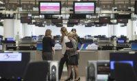 Arī pēc reģistrācijas zāles atvēršanas Briseles lidosta ierastajā darba ritmā vēl neatgriežas