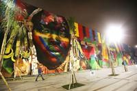 Brazīlijas ielu mākslinieks gatavo jaunu pasaules rekordu