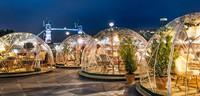 Temzas krastā Londonā izveidots iglu restorāns