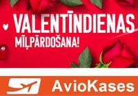Izvēlies kādu no airBaltic romantiskajiem galamērķiem – lai šī gada Valentīndiena paliek atmiņā kā ļoti īpaša!