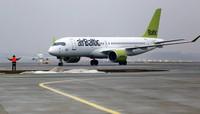 Авиакомпания «airBaltic» приняла решение летать в Лиепаю и зимой