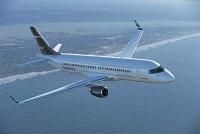 Bombardier lidmašīnās varēs ērti pārvadāt lielu skaitu pasažieru