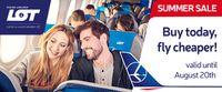 Aviokompānijas LOT cenu akcija uz tālajiem lidojumiem!