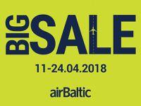 BIG SALE! airBaltic акция - распродажа авиабилетов!