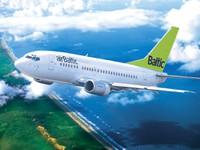 airBaltic в июне перевезла на 23% больше пассажиров