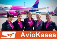 'Wizz Air' piedāvās iespēju rezervēt aviobiļetes, nenorādot visu ceļotāju vārdus.