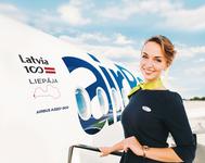 «airBaltic» jaunās lidmašīnas nosauc Latvijas pilsētu vārdos