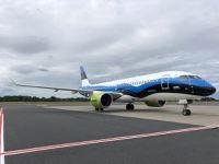airBaltic atzīmē augsto pieprasījumu Igaunijā ar īpašu Airbus A220-300 lidmašīnas krāsojumu