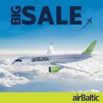 BIG SALE! airBaltic - распродажа авиабилетов со скидкой!