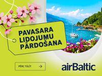 airBaltic akcija - atlaides