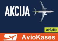 Ļoti izdevīgas akcijas cenas rudens un ziemas lidojumiem, sākot no 29 EUR