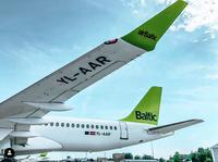 airBaltic jūnijā pārvadā vairāk nekā 500 000 pasažieru