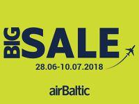 BIG SALE! airBaltic - распродажа авиабилетов!