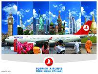 Turkish Airlines akcija - Eiropa, Āzija, Āfrika un ASV