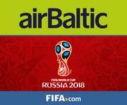 airBaltic будет выполнять рейсы на Чемпионат мира по футболу