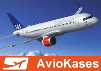 SAS Scandinavian Airlines акция - США и Азия