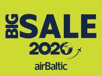 airBaltic aviobiļešu LIELPĀRDOŠANA